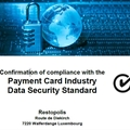 Security is our concern! That's why we are happy to announce that we are PCI DSS compliant!
