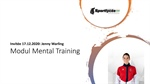 SLL Module Mental Training: Interview #5 mam Jenny Warling