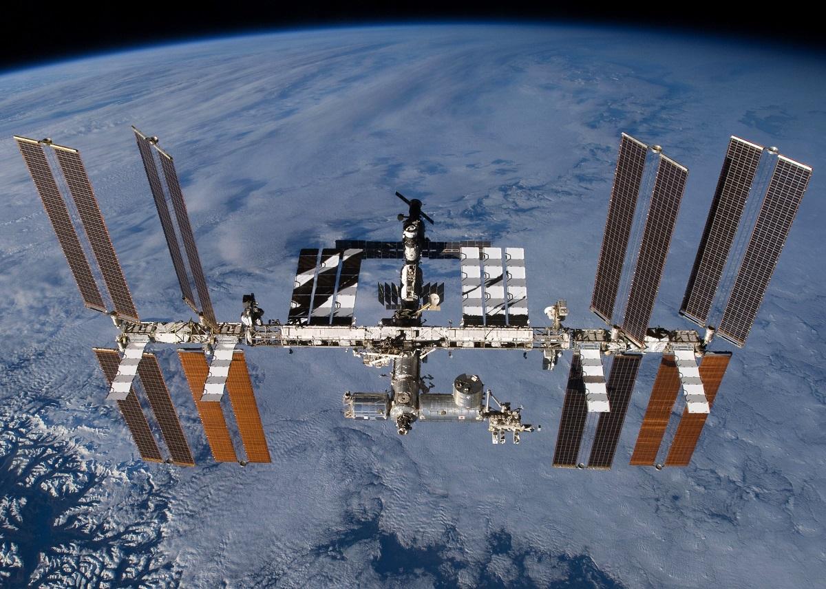 Forscher in der Internationalen Raumstation (ISS)