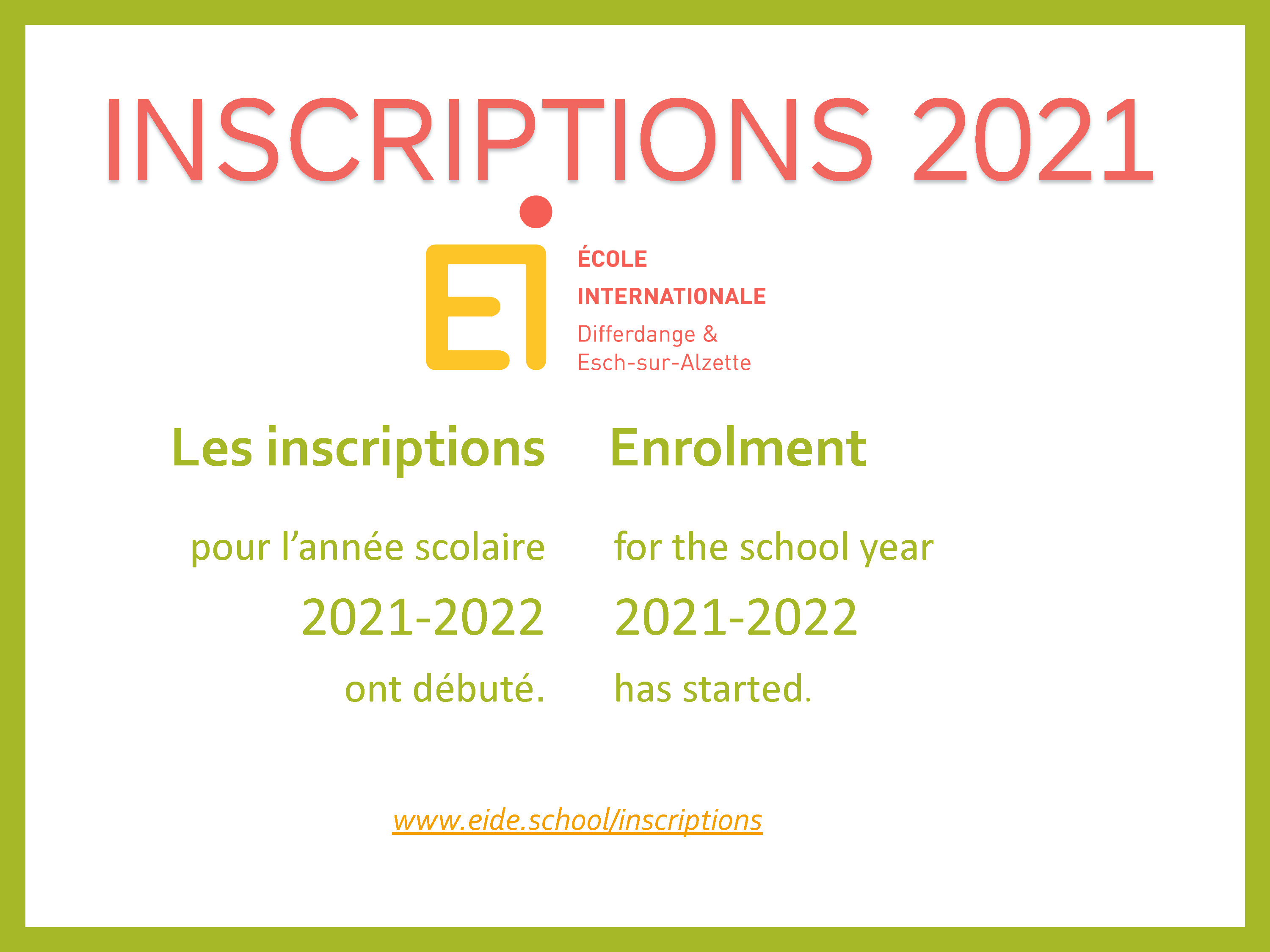 Inscriptions 2021a Homepage